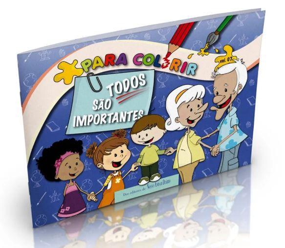 Livro Para Colorir Todos São Importantes