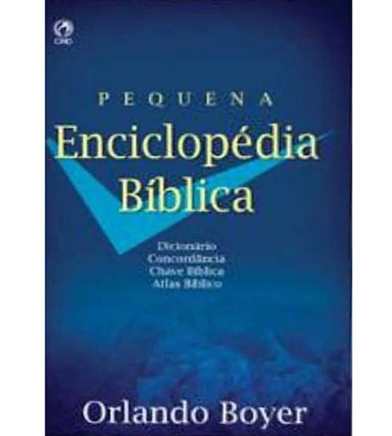 Livro Pequena Enciclopédia Bíblica Capa Dura