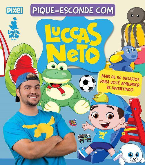 Livro Pique-Esconde com Luccas Neto