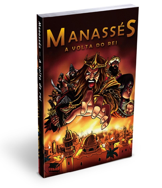 Mangá Manassés - A Volta do Rei