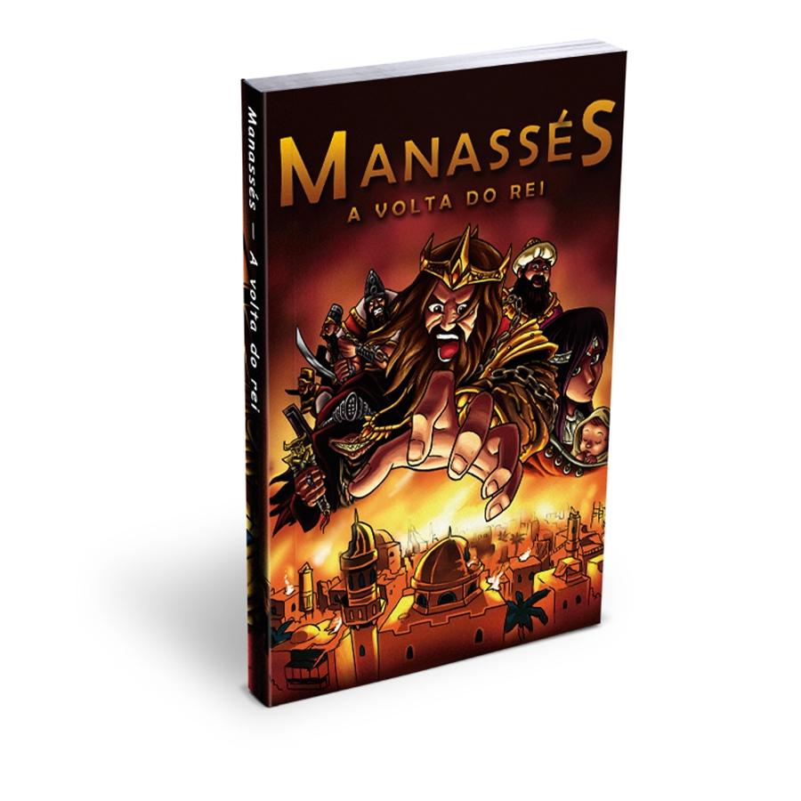 Mangá Manassés | A Volta do Rei | Isaac Taan | Rachel Ang