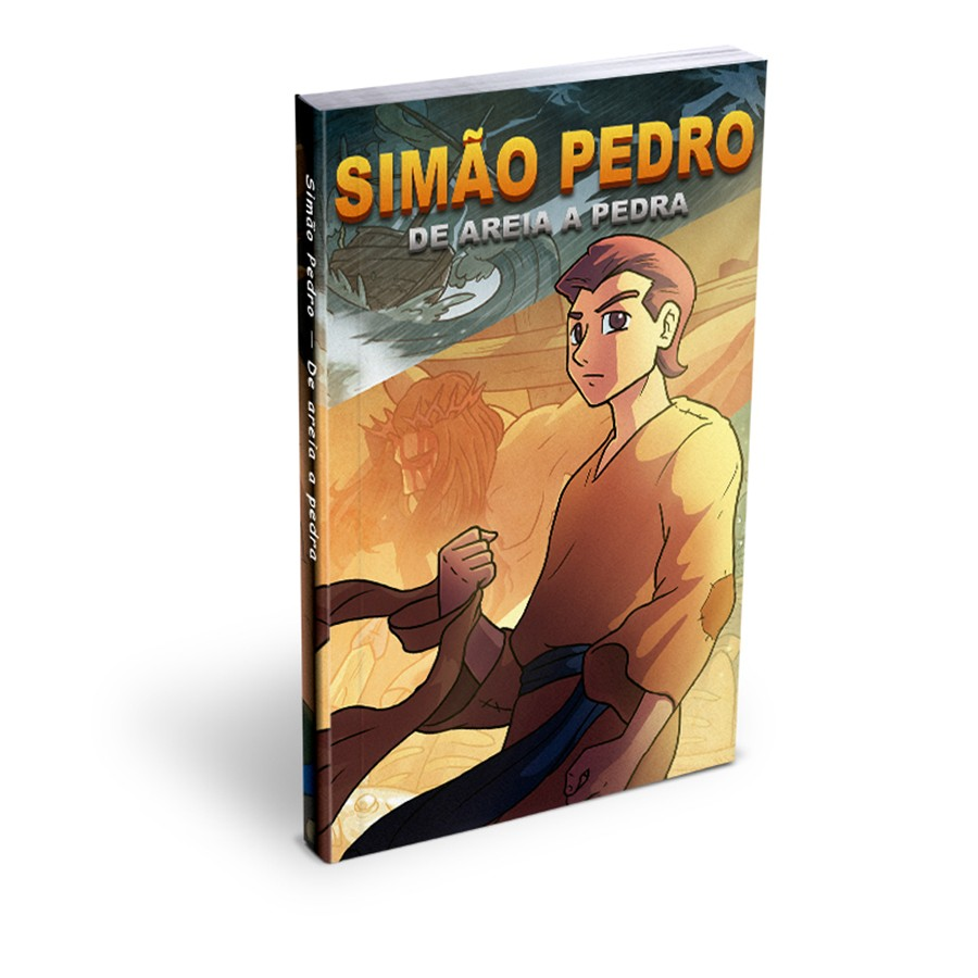 Mangá Simão Pedro - De Areia A Pedra