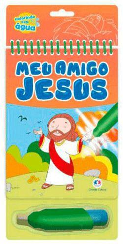 Meu Amigo Jesus   Colorindo com água