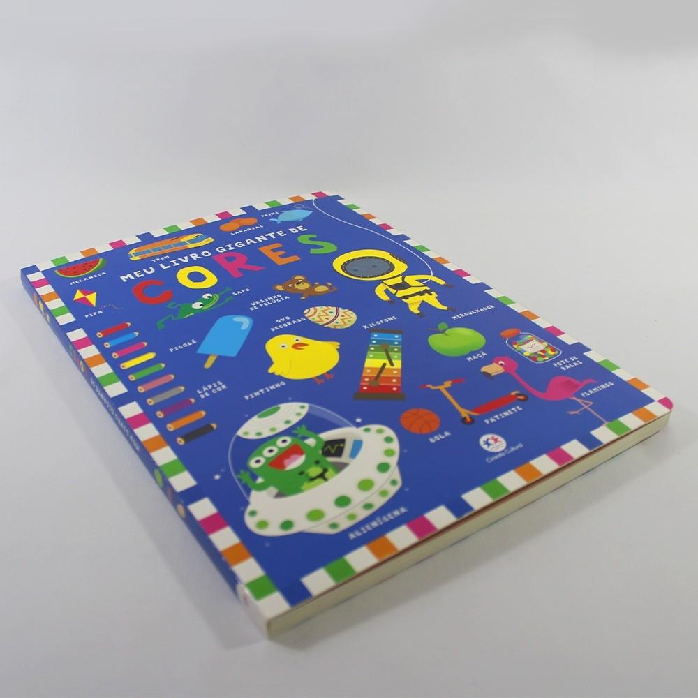 Meu Livro Gigante de Cores