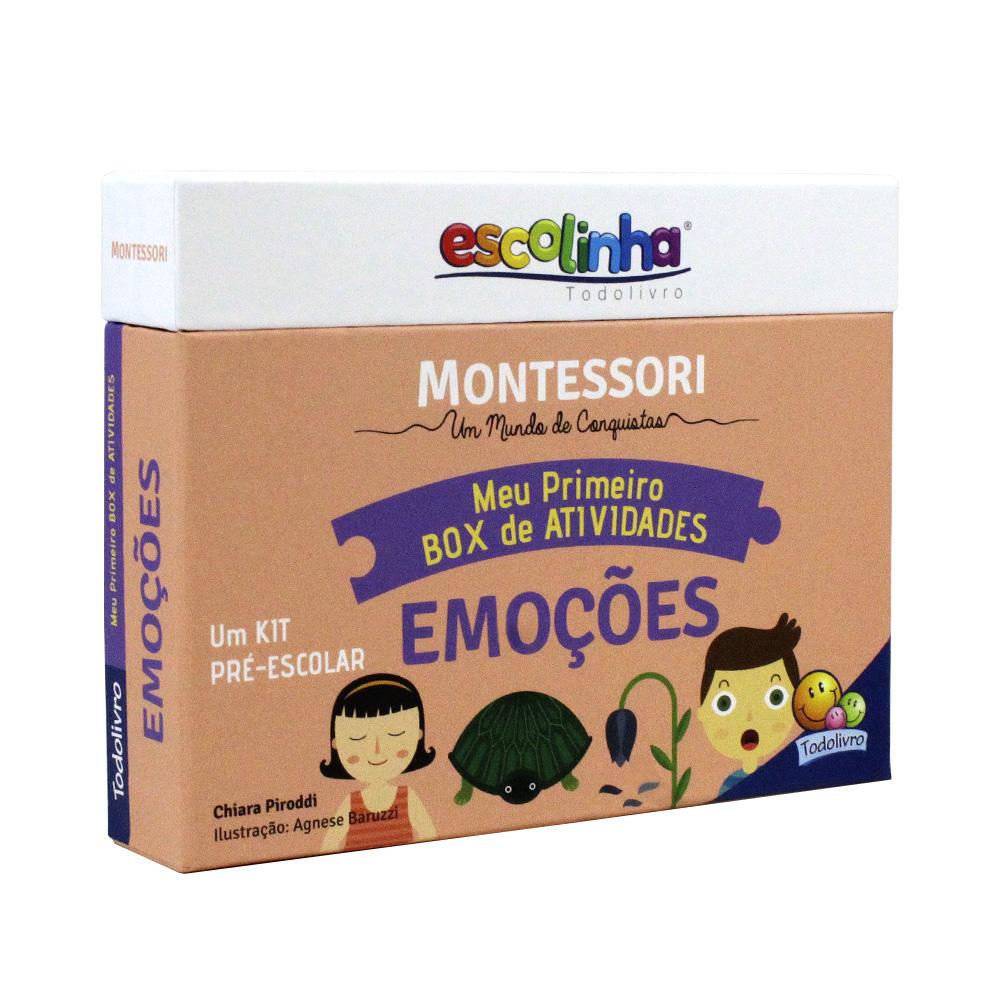 Meu Primeiro Box De Atividades | Emoções | Escolinha Montessori