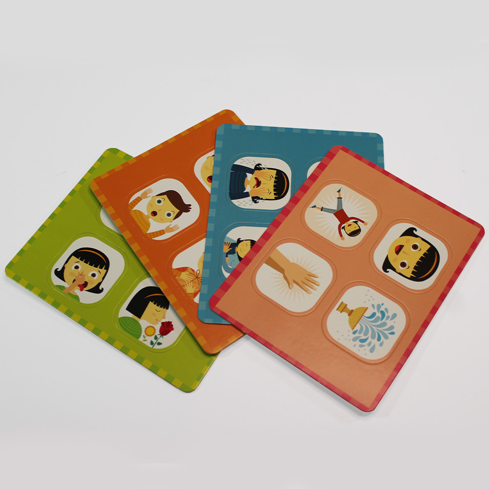 Meu Primeiro Box De Atividades   Emoções   Escolinha Montessori