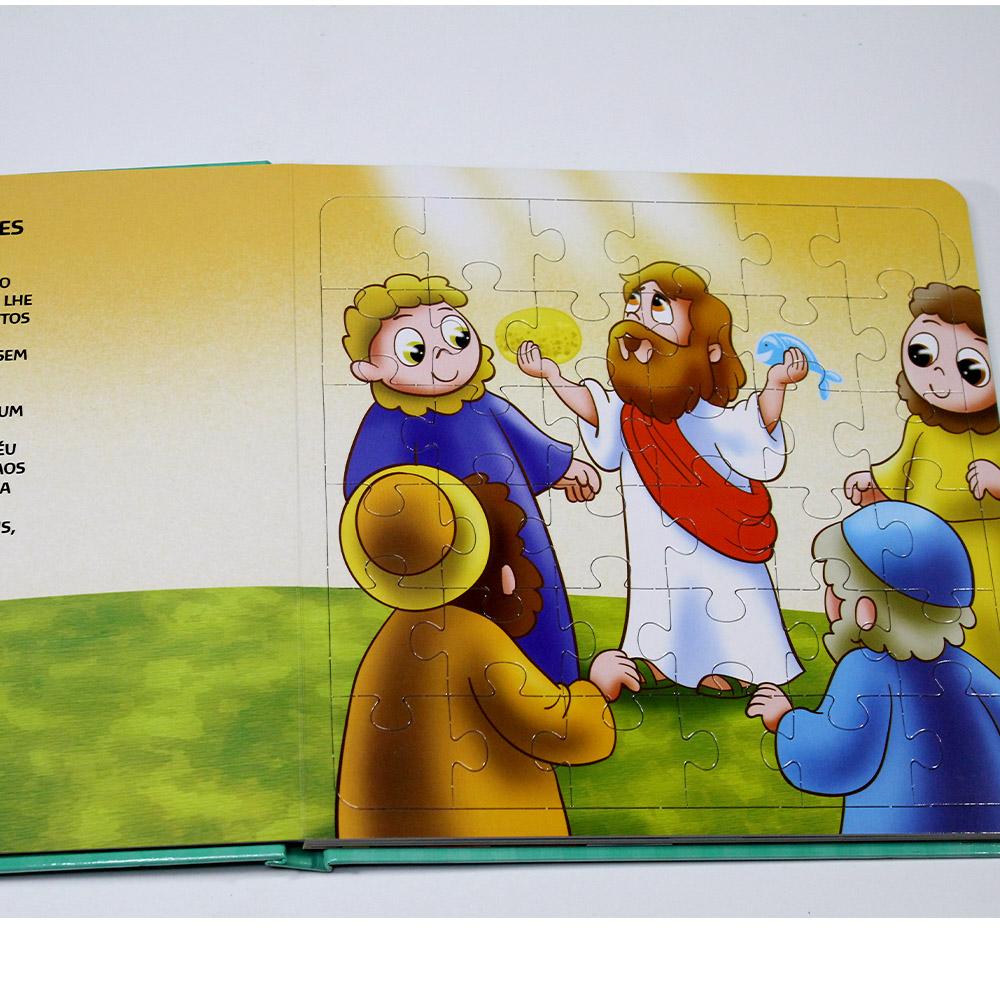 Mundo Bíblico em Quebra-Cabeça | Milagres de Jesus