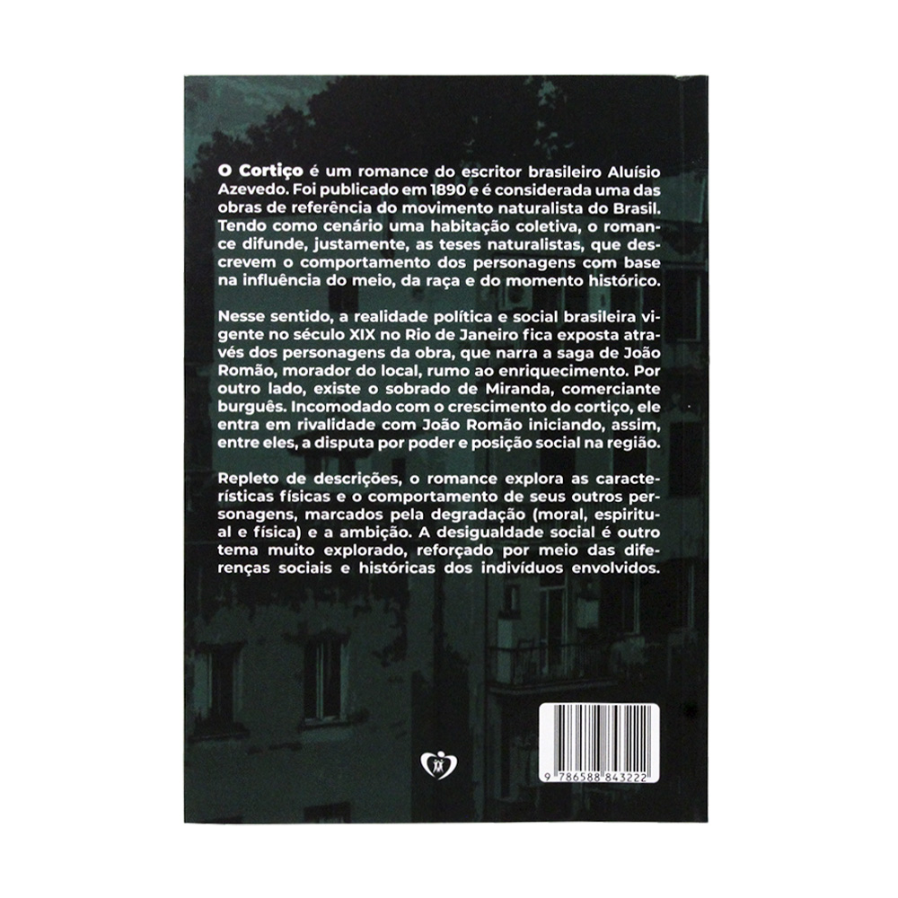 O Cortiço | Aluísio Azevedo | LFC