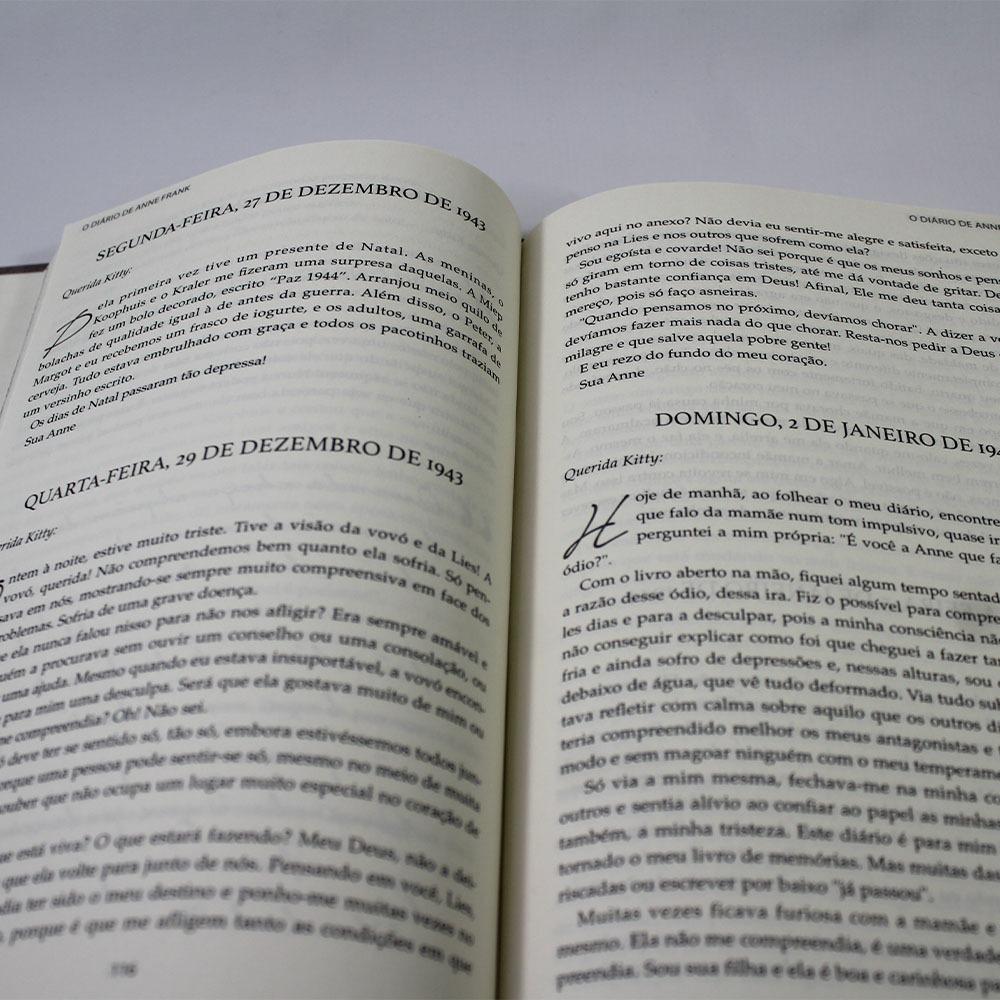 O Diário de Anne Frank - Pé da Letra