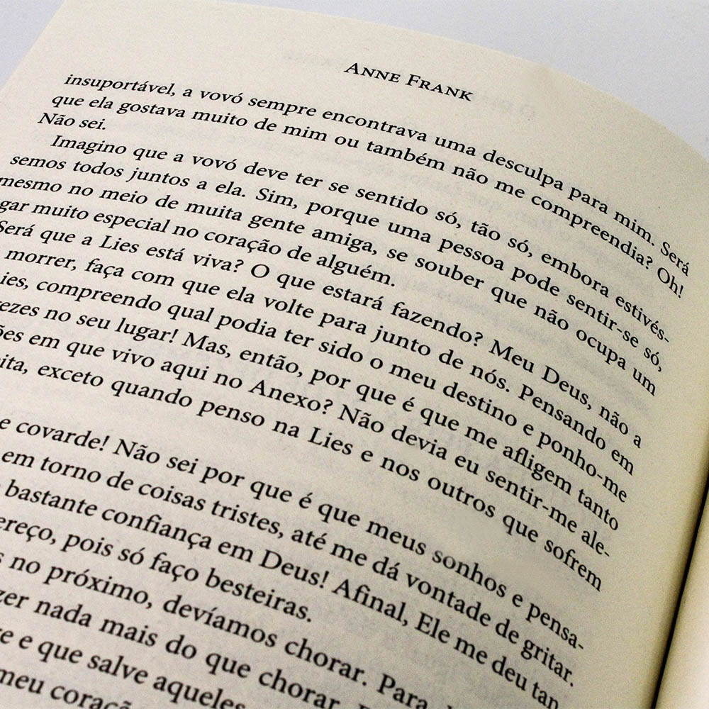 O Diário de Anne Frank   TriCaju