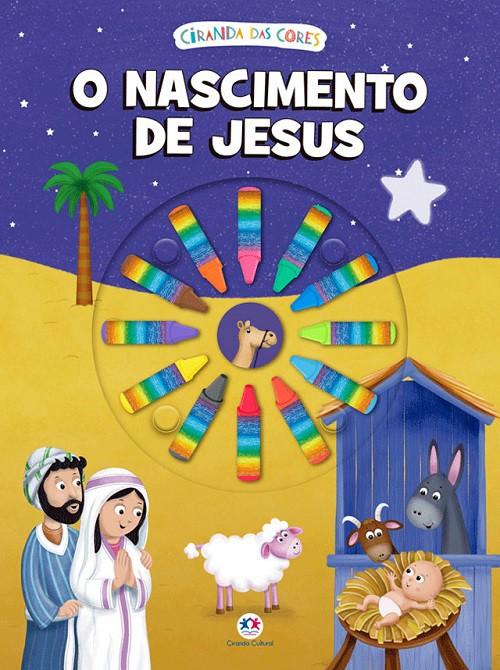 O Nascimento de Jesus - Giz de Cera