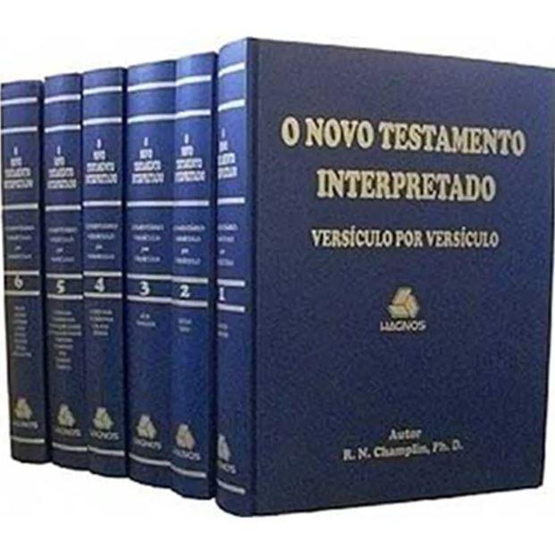 O Novo Testamento Interpretado Versículo Por Versículo | Russell Champlin