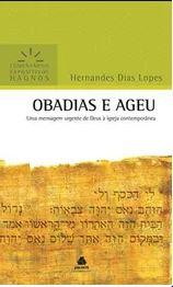 Obadias e Ageu Comentário Expositivo | Hernandes Dias Lopes