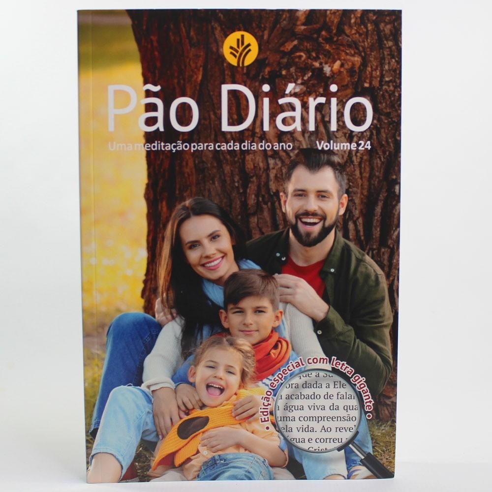 Pão Diário Família - Letra Gigante Vol. 24