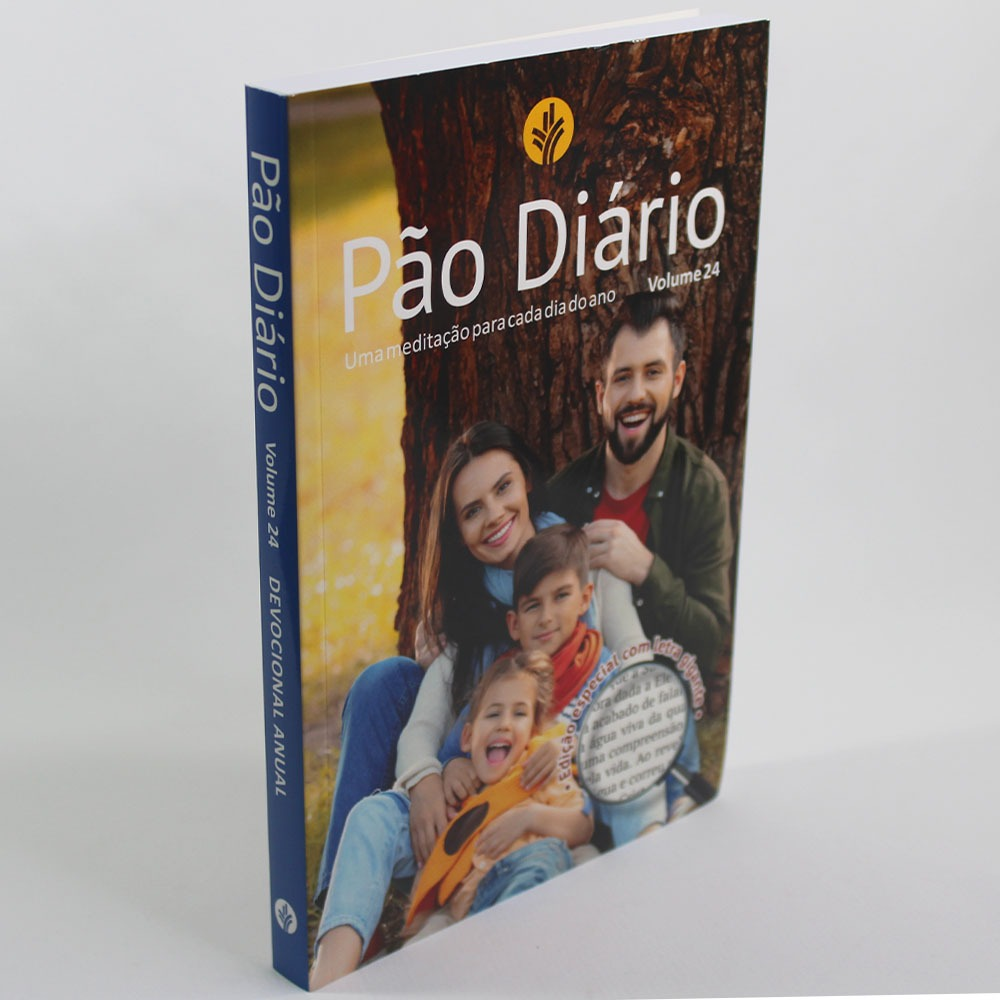 Pão Diário | Família | Letra Gigante | Volume 24