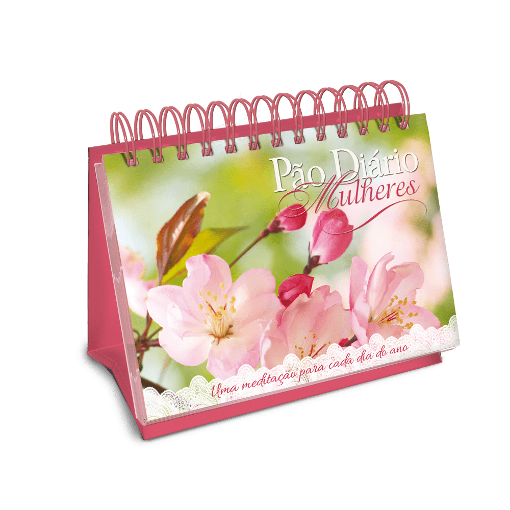 Pão Diário Mulheres Flores da Terra Edição de Mesa