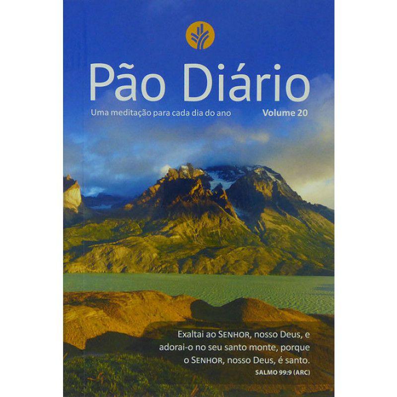 Pão Diário | Volume 20 | Edição de Bolso | Capa Paisagem