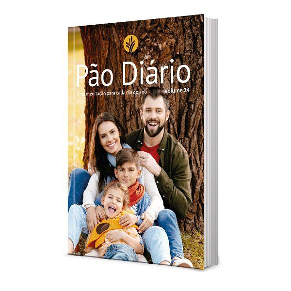 Pão Diário Vol. 24 - Ano 2021   Capa Família