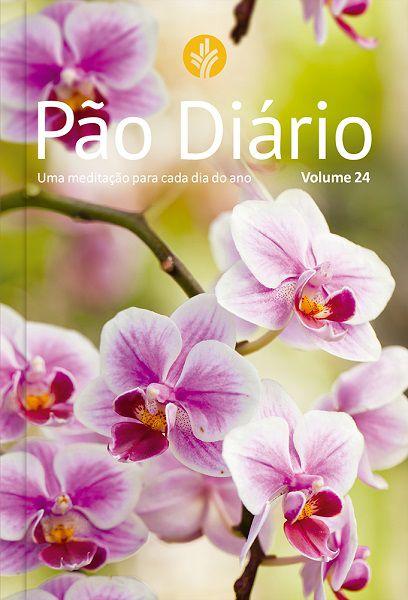 Pão Diário Vol. 24 - Ano 2021   Capa Flores