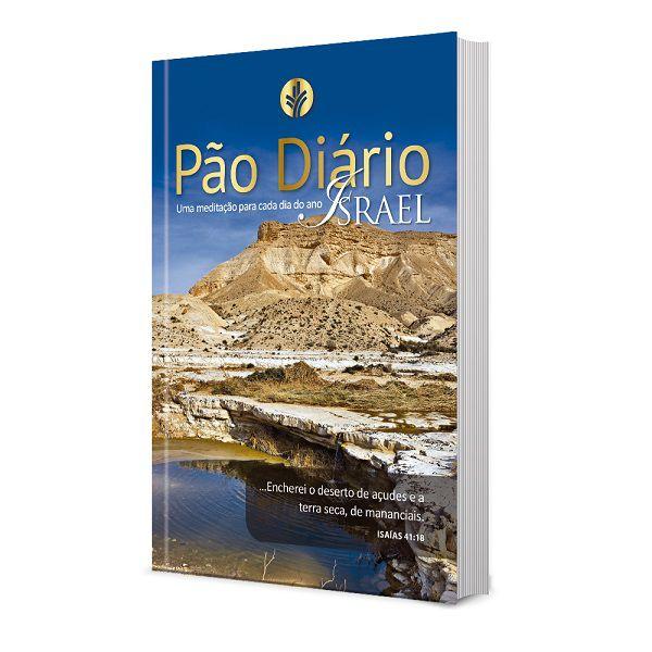 Pão Diário Vol. 24 - Ano 2021   Capa Israel