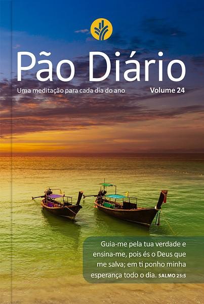 Pão Diário Vol. 24 - ano 2021 Letra Gigante Paisagem