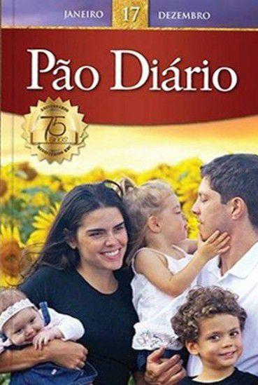 Pão Diário Volume 17   Capa Família