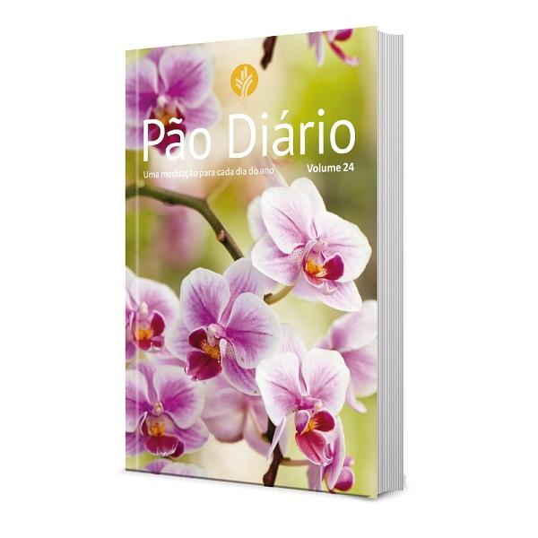 Pão Diário | Volume 24 | 2021 | Capa Flores