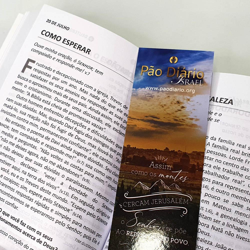 Pão Diário   Volume 25   Ano 2022   Capa Israel