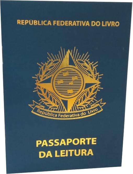 Passaporte da Leitura - Azul