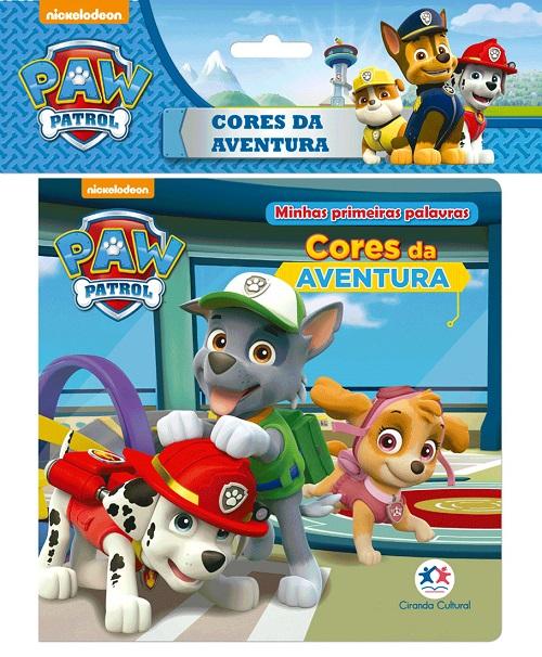 Patrulha Canina - Cores da aventura - Livro de Banho