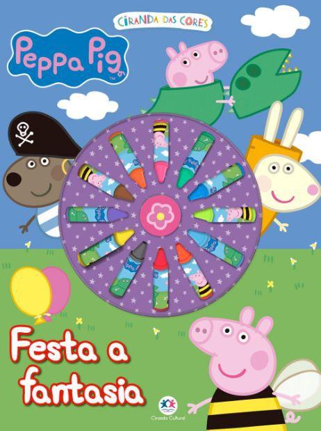 Peppa Pig - Festa a Fantasia   Giz de Cera