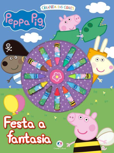 Peppa Pig - Festa a Fantasia - Giz de Cera