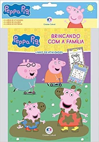 Peppa Pig - Kit com 8 livros