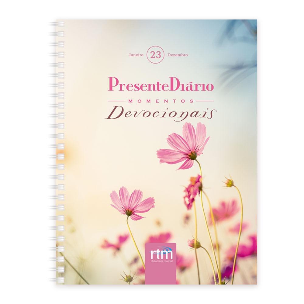 Presente Diário Momentos Devocionais | Agenda 2020 Femino