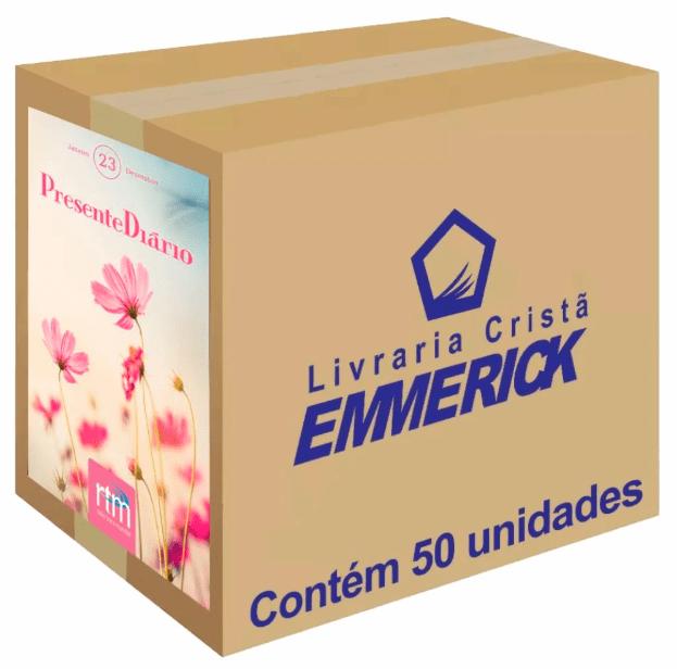 Presente Diário Vol. 23 | Ano 2020 | Feminino Caixa 50 unds.