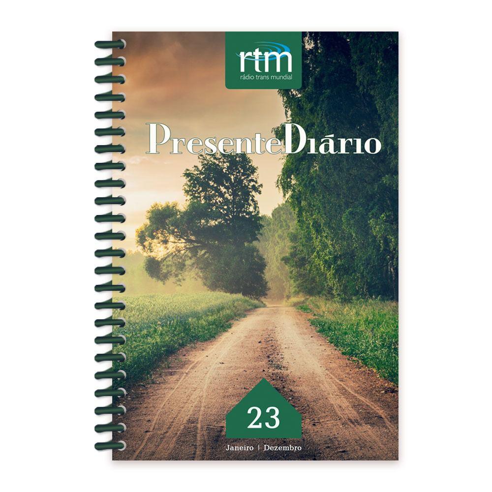 Presente Diário Vol. 23 | Ano 2020 | Letra Grande Espiral