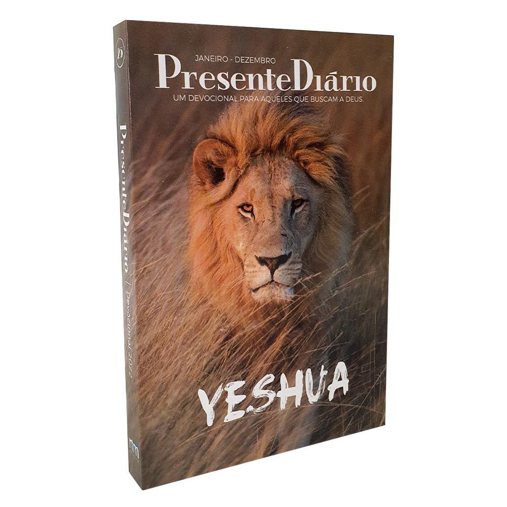 Presente Diário Vol. 25 | Ano 2022 | Capa Leão Yeshua