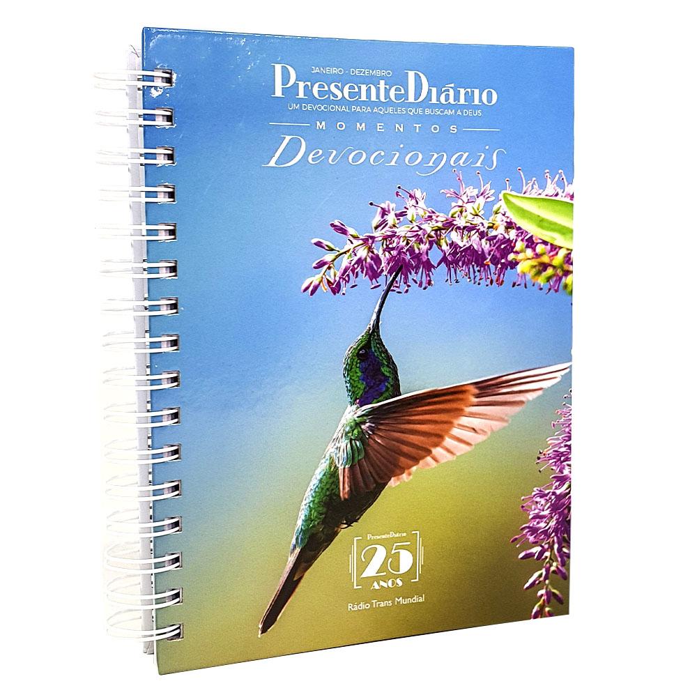 Presente Diário Vol. 25 | Ano 2022 | Momentos Devocionais | Wire-o | Capa Feminina