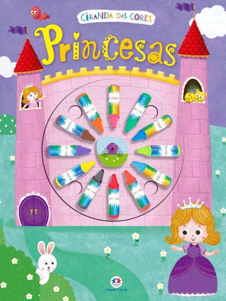 Princesas - Giz de Cera