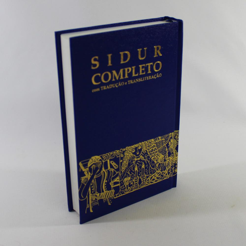 Sidur Completo - Livro de Orações Judaicas