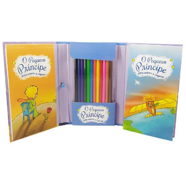 Superkit O Pequeno Príncipe para colorir e se inspirar