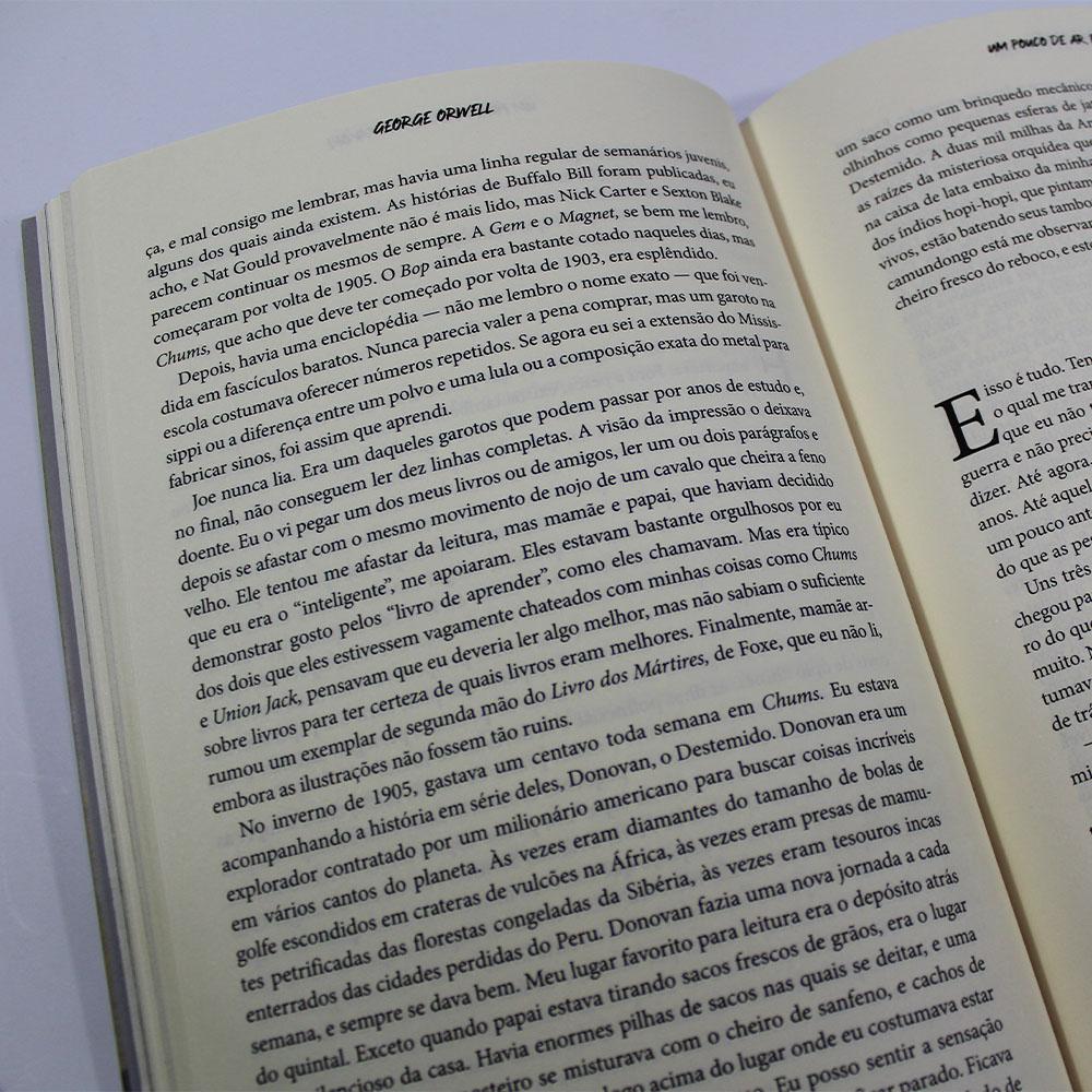 Um Pouco De Ar, Por Favor! | George Orwell | Pé Da Letra