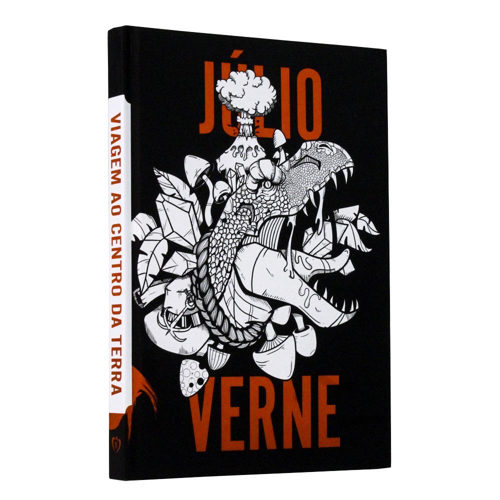 Viagem Ao Centro Da Terra | Edição Premium | Júlio Verne - Capa dura
