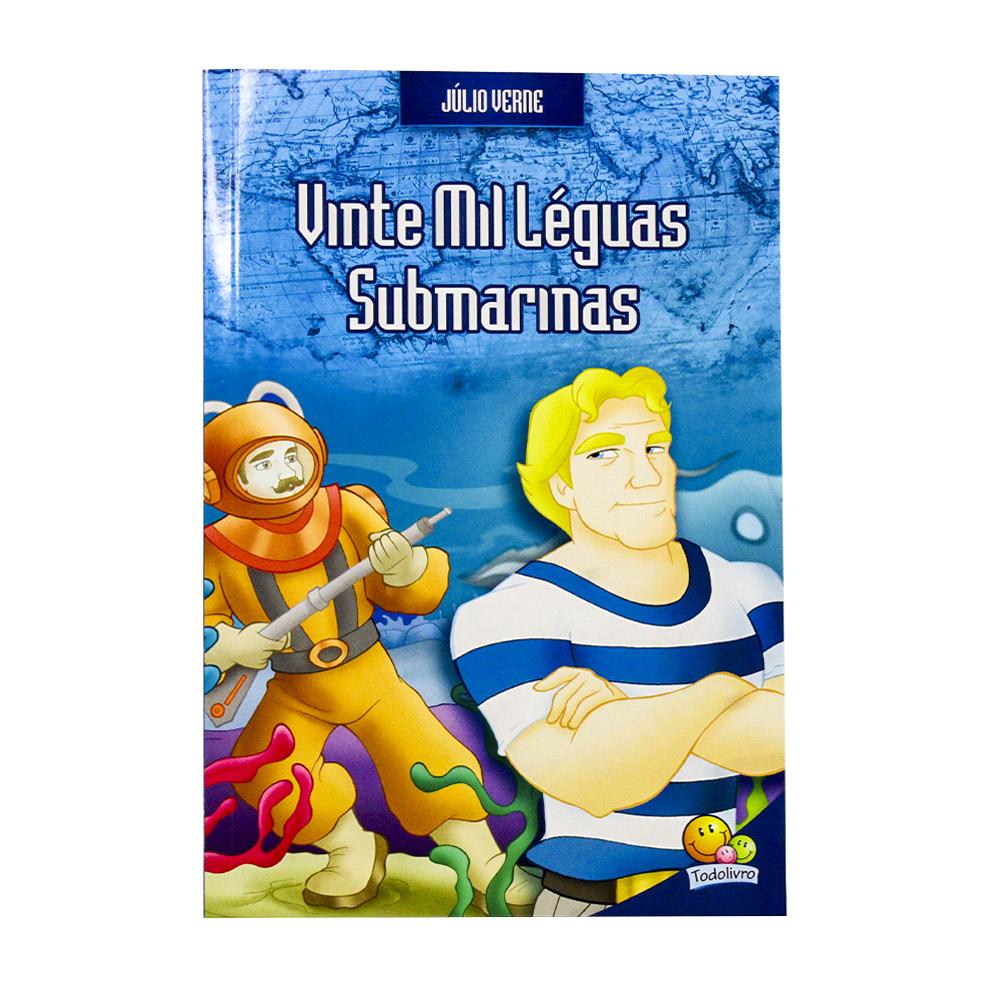Vinte Mil Léguas Submarinas   Júlio Verne   Todolivro