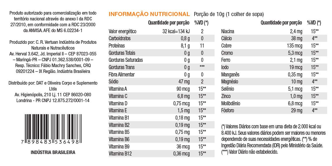 100% Natural Belle Fit Colágeno 250g ExtremeFit
