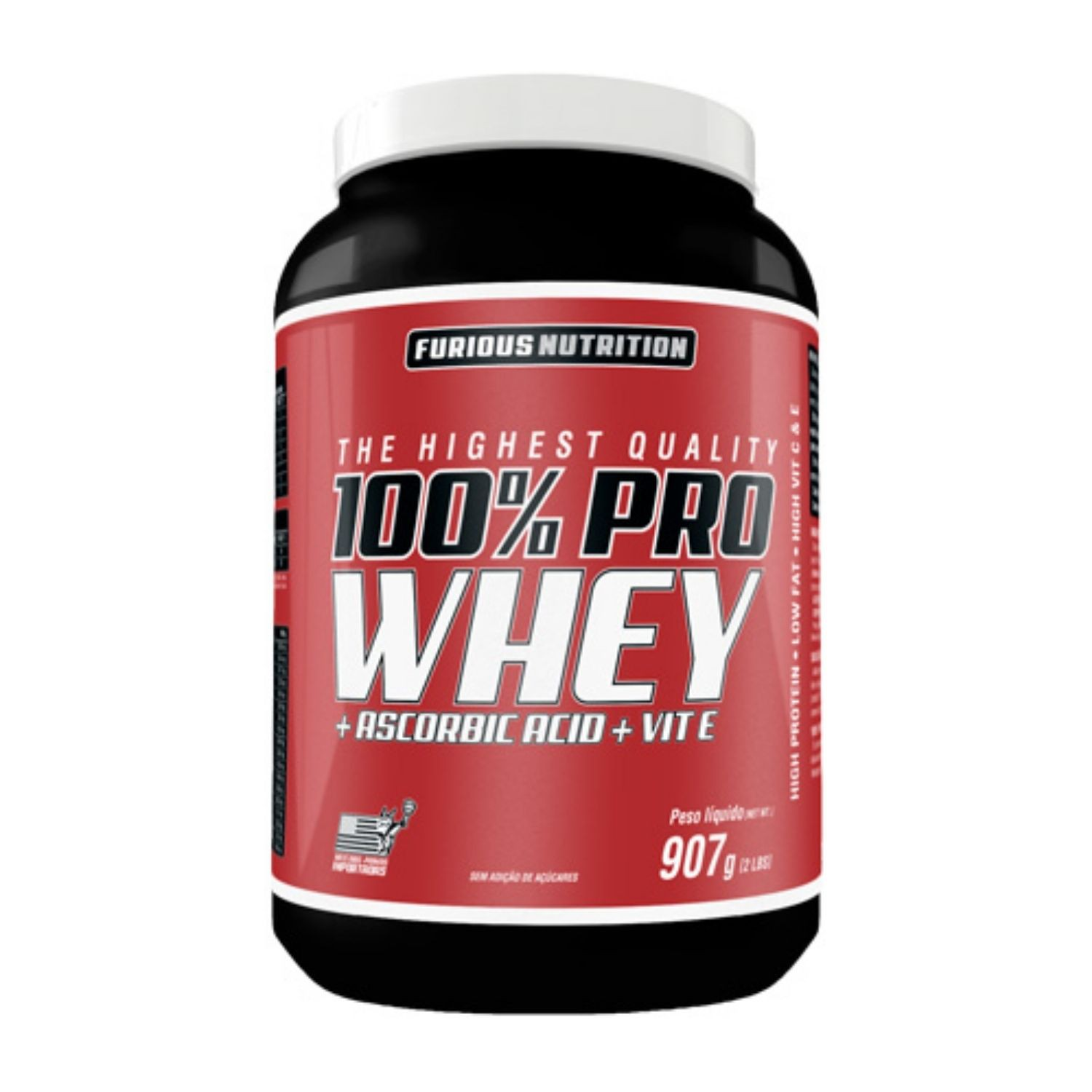100% Pro Whey 907g Furious Nutrition