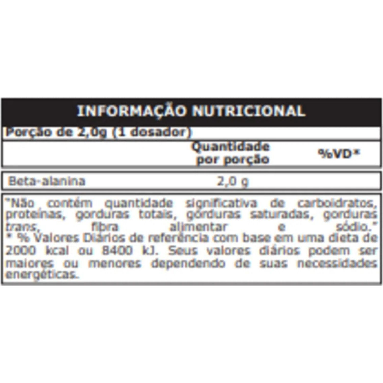 100% Pure Beta Alanina 150g Probiótica