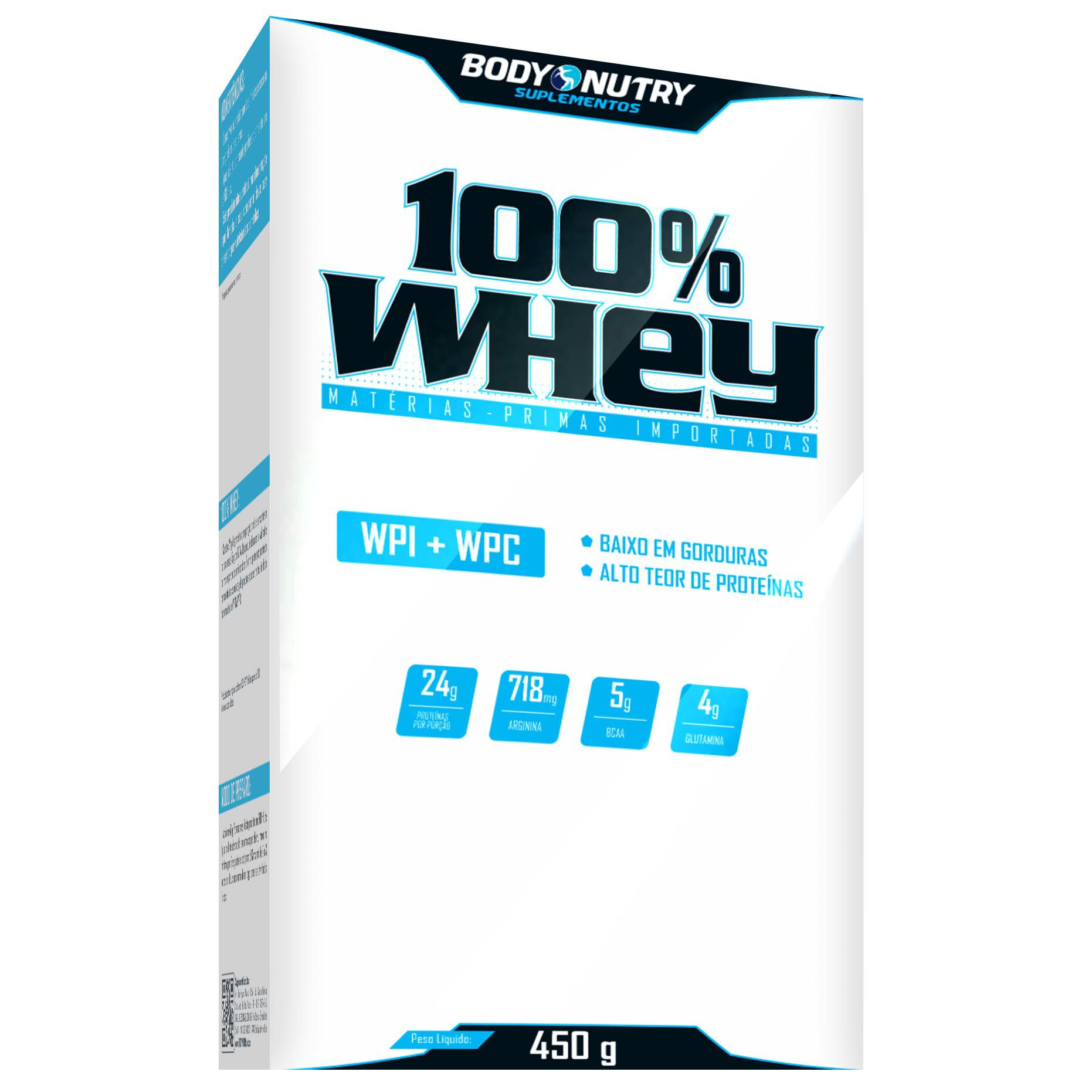 100% Whey 450g Body Nutry