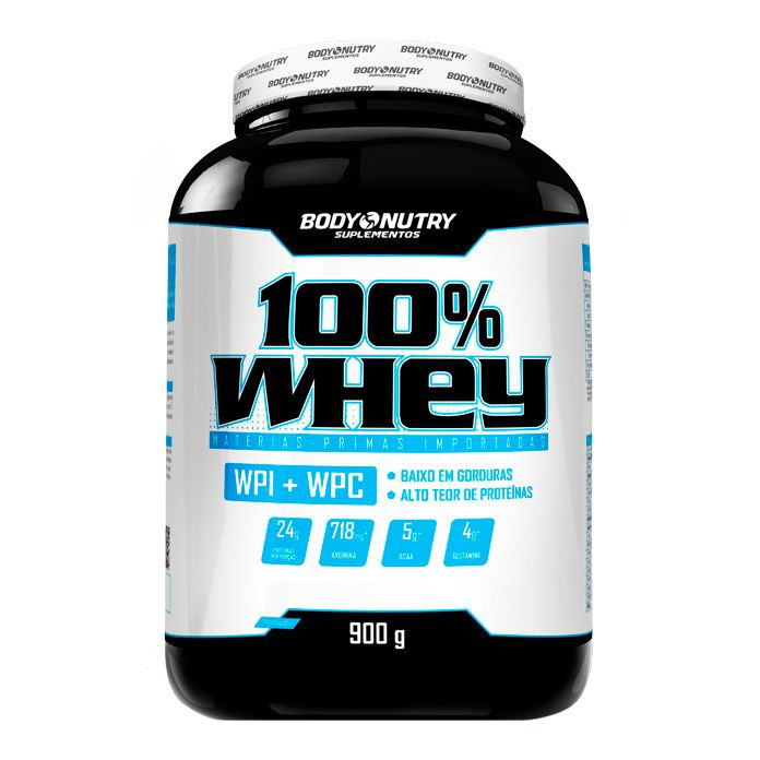 100% Whey 900g Body Nutry