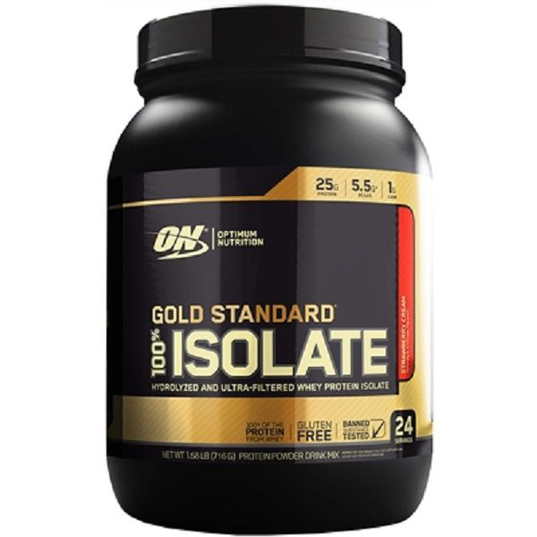 100% Whey Gold Isolate 716g Optimum Nutrition
